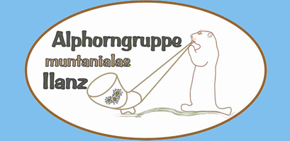 Logo Alphorngruppe Muntanialas Ilanz
