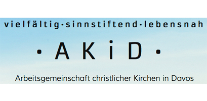 Logo AKiD - Arbeitsgemeinschaft christlicher Kirchen in Davos