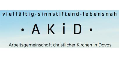 Logo AKiD - Arbeitsgemeinschaft christlicher Kirchen in Davos