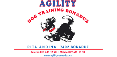 Logo Agility Dog Training Bonaduz