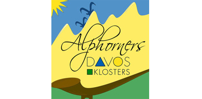 Logo Alphorners Davos Klosters