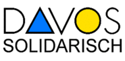 Logo Davos Solidarisch