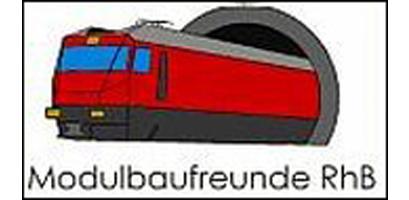 Logo Modulbaufreunde Rhätische Bahn