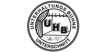 Logo Unterhaltungsbühne (UHB) Unterschnitt Davos