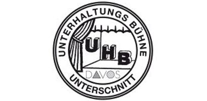 Logo Unterhaltungsbühne (UHB) Unterschnitt Davos