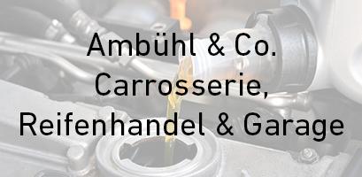Logo Ambühl & Co. Carrosserie, Reifenhandel & Garage