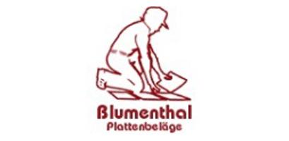 Logo Blumenthal Plattenbeläge Vals