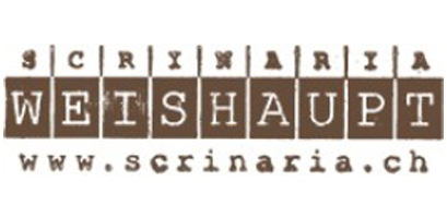 Logo Scrinaria Weishaupt Ilanz