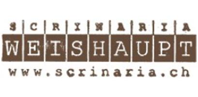Logo Scrinaria Weishaupt Ilanz